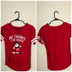 Mickey Mouse short sleeve shirt